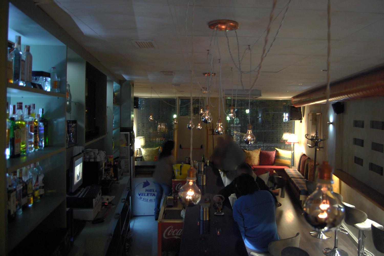 diseno interior lulaby bar copas granada foto 2